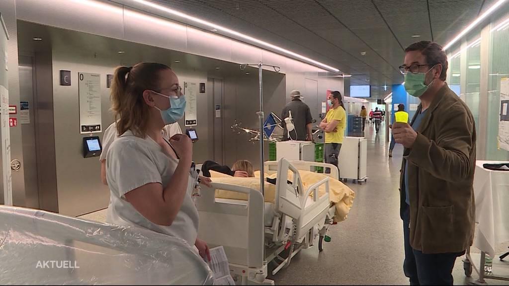 Zügelaktion: In Solothurn zieht ein ganzes Spital um