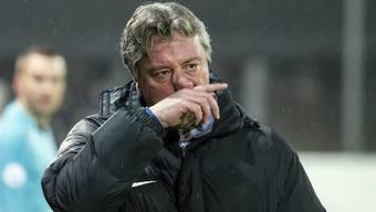 Marco Schällibaum haderte mit dem Cup-Aus gegen Luzern - war nach dem Spektakel-Spiel aber trotzdem zufrieden mit seiner Mannschaft.