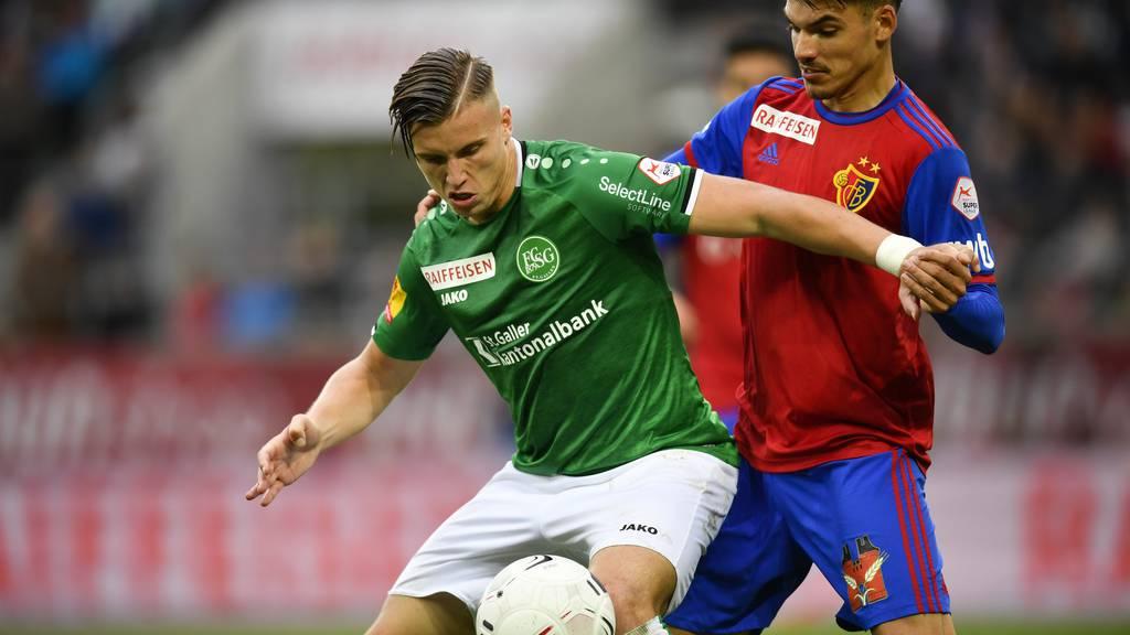 Siegesserie gerissen: FCSG und Basel trennen sich 0:0