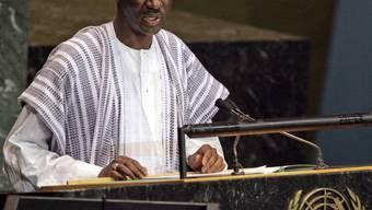 ARCHIV - Moctar Ouane, damaliger Außenminister von Mali, spricht auf der UN-Generalversammlung. Foto: Frank Franklin II/AP/dpa
