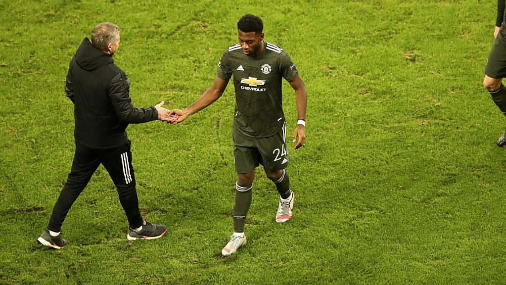Abschied aus Manchester: Der niederländische Verteidiger Timothy Fosu-Mensah wechselt zu Leverkusen