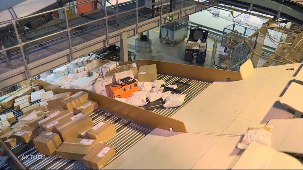 Weihnachtsstress? 470'000 Pakete pro Tag