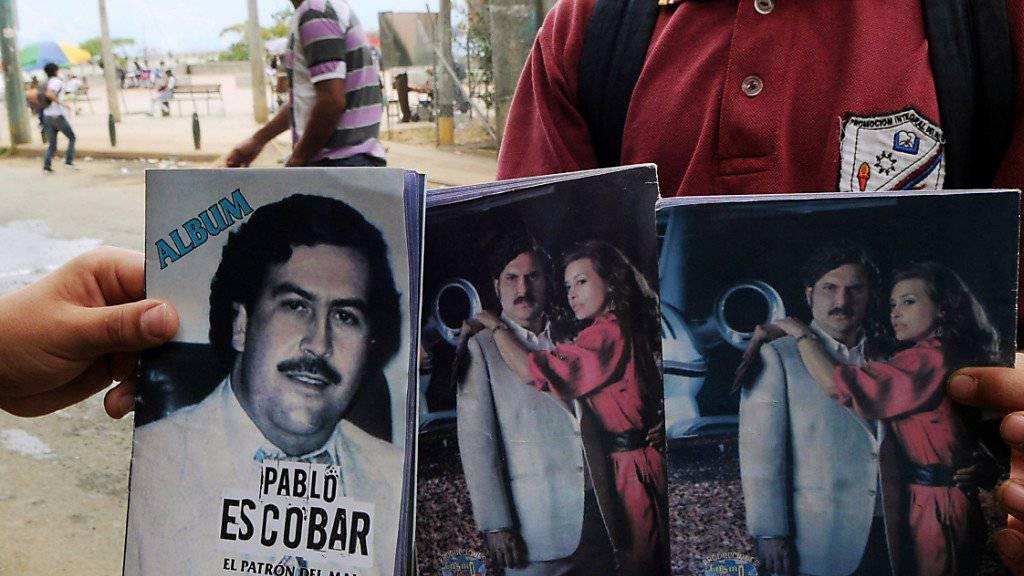 Drogenboss Pablo Escobar: Einer seiner Auftragsmörder will nach abgesessener Gefängnisstrafe in Kolumbien in die Politik einsteigen. (Archivbild)