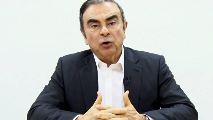 Carlos Ghosn wehrt sich gegen seine neuerliche Inhaftierung mit Anwälten (Bild vom 9. April).