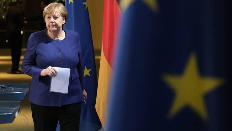 Bundeskanzlerin Angela Merkel hofft auf eine Lösung für Libyen.