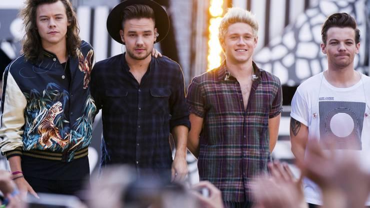 V.l.: Harry Styles, Liam Payne, Niall Horan und Louis Tomlinson von One Direction trennen sich im März (Archiv)
