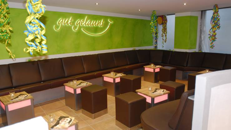 Lounge des «Gut gelaunt» in Solothurn (Foto: Astrid Bucher)