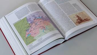 120000 Jahre Geschichte auf dem Gebiet der heutigen Schweiz behandelt das neue Standardwerk. ken