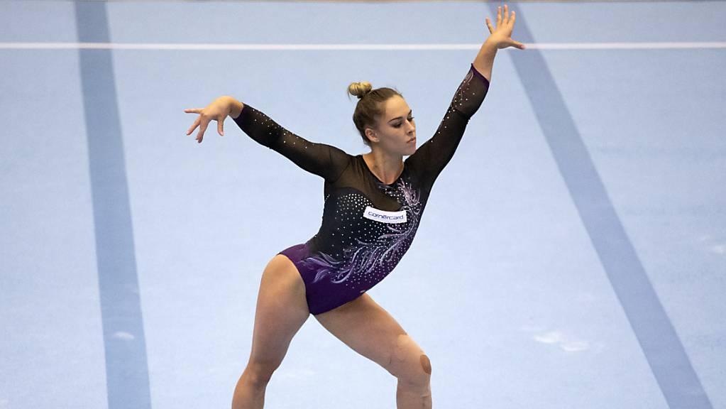 Giulia Steingruber in Aktion