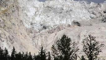 Der Planpincieux-Gletscher unterhalb des Mont Blanc. Foto: Stefano Bertolino/LaPresse/dpa