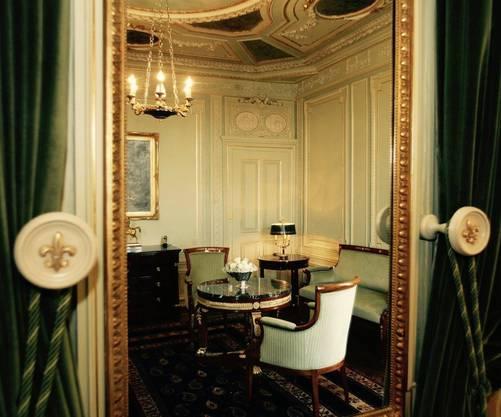 Ein begehrenswertes Hotel. Die Napoleon-Suite im Basler Trois Rois.