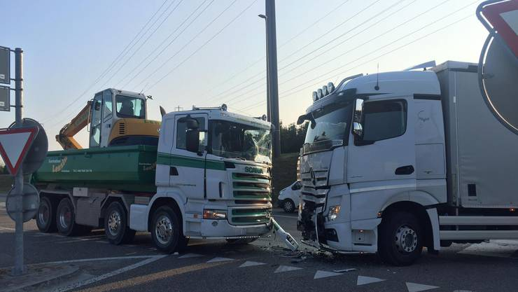 Der Unfall war das Resultat eines missglückten Abbiegemanövers.