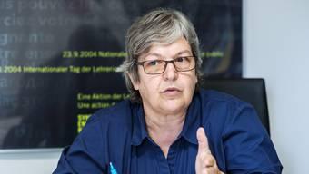 Elisabeth Abbassi, Präsidentin des Lehrerinnen- und Lehrerverbands.