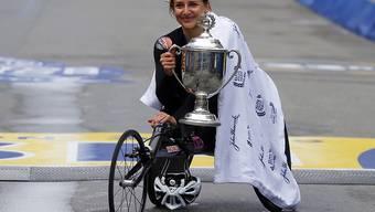 Manuela Schär triumphiert in Boston