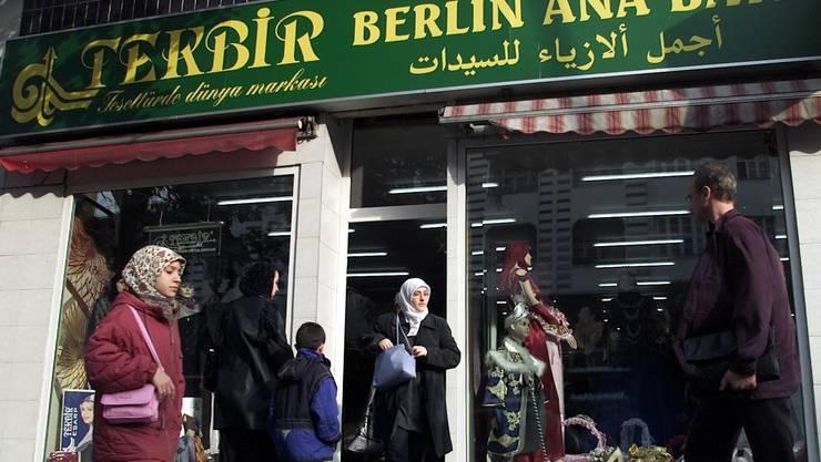 Türkinnen in Berlin Kreuzberg Die Stimmung ist angespannt.