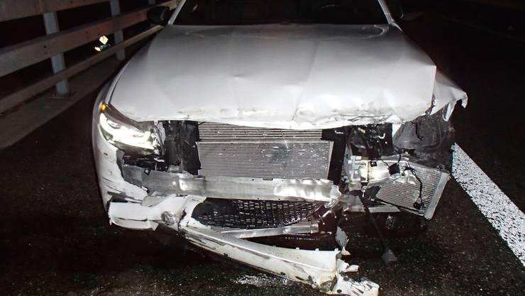 Am BMW entstand ein Sachschaden von 15'000 Franken.