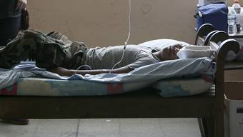 Ein verwundeter junger Demonstrant liegt im Universitätsspital in der nicaraguanischen Hauptstadt Managua. (Archivbild)