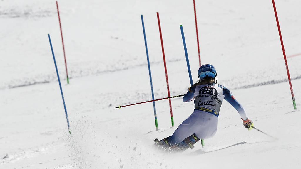 Angepasste Startreihenfolge im Männer-Slalom
