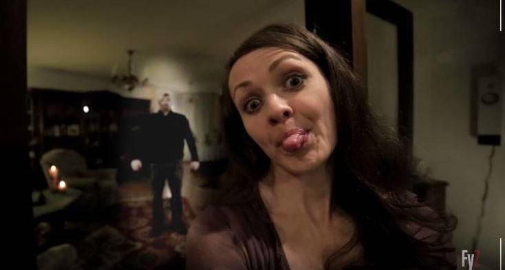 «Selfie from Hell» lautet der Titel dieses gruseligen – gruseligen! – Promo-Clips.