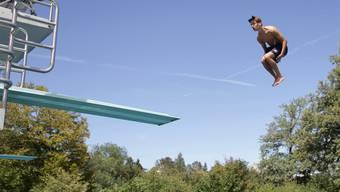 Splashdiving-Show im Terrassenbad Baden (12.08.18)