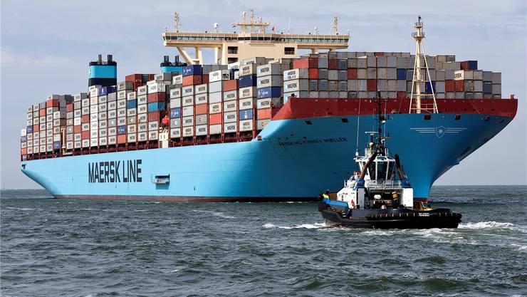 Transport mit hohen Nebenwirkungen: Schiffsabgase belasten die Luft in Hafenstädten stärker als der gesamte Strassenverkehr.Michael Kooren/Reuters