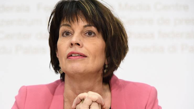 Seit 2006 sitzt Doris Leuthard im Bundesrat. Sie hat 14 ihrer 16 Volksabstimmungen gewonnen.