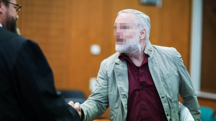 Der mutmassliche Spion Daniel M. vor Gericht.