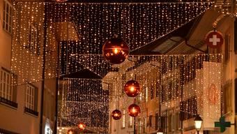 Oltner Weihnachtsbeleuchtung 2018
