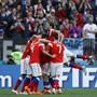Das russische Nationalteam schoss sich mit einem 5:0 gegen Saudi-Arabien zurück in die Herzen der heimischen Fans