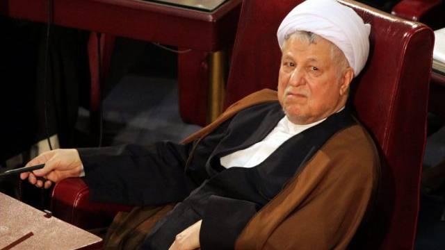 Der iranische Expräsident Akbar Haschemi Rafsandschani (Archiv)