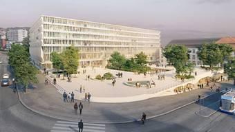 Das gesamte Hochschulquartier soll in den nächsten rund 30 Jahren in mehreren Etappen umgestaltet werden, um Lehre, Forschung und medizinische Versorgung zu stärken und das Quartier städtebaulich zu entwickeln. (Archiv)