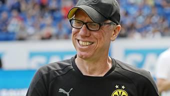 Keine Zukunft in Dortmund: Trainer Peter Stöger