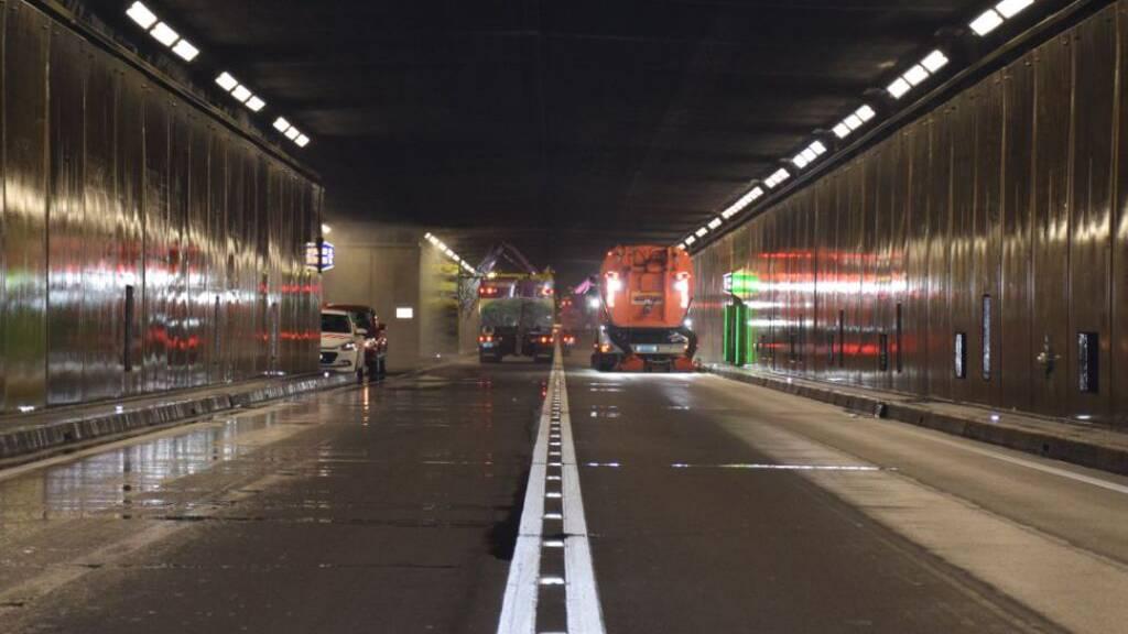 Gotthard wird für Unterhaltsarbeiten geschlossen