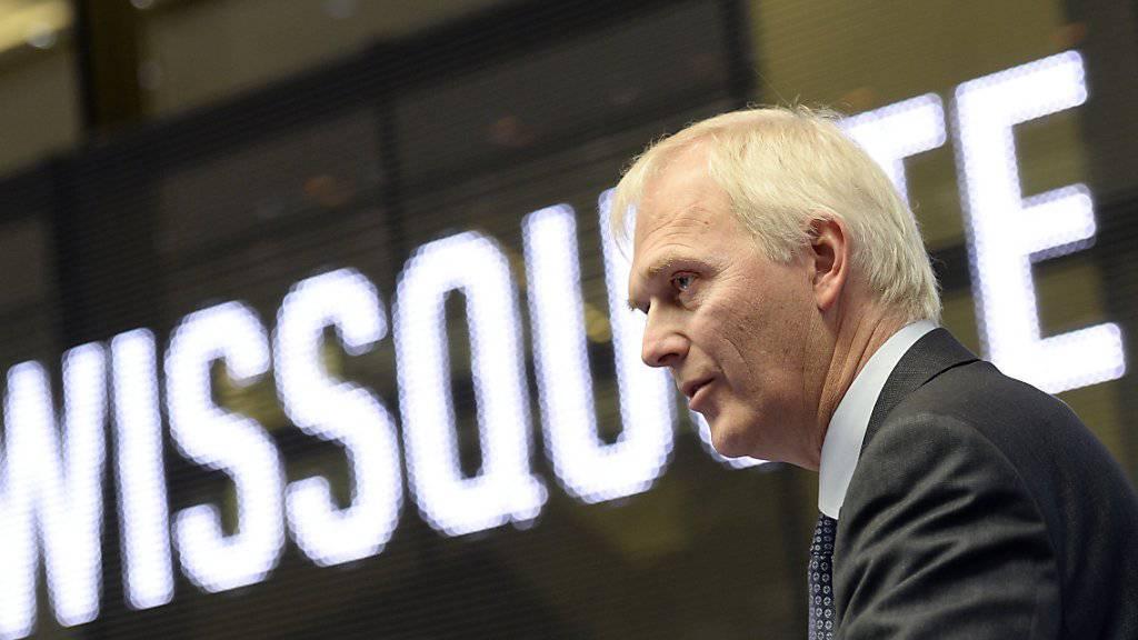 Swissquote-Chef Mark Bürki kann eine deutliche Steigerung des Halbjahresgewinn verkünden. (Archiv)