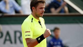 Roland Garros: Wawrinka setzt sich gegen Chardy durch
