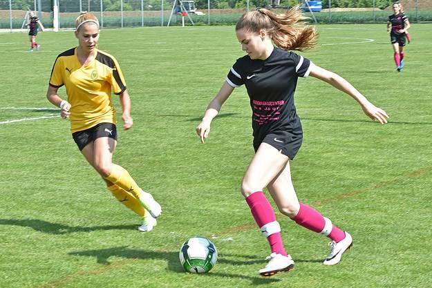 Im Frauen-Final standen sich Mümliswil und Blustavia gegenüber.