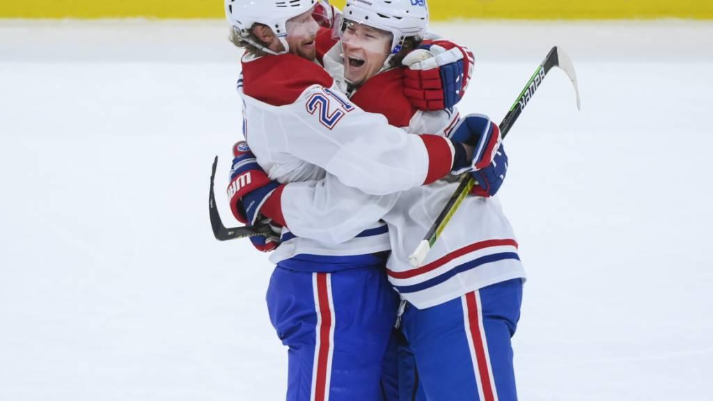 Montreal Canadiens mit Auswärtssieg in Spiel 2 - ArgoviaToday