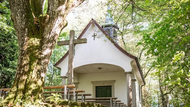 Stein des Anstosses: Im Türmchen auf der Marienkapelle hängt die 100 Kilogramm schwere Glocke.