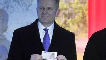 Unter Korruptionsverdacht: der lettische Notenbankchef Ilmars Rimsevics. (Archivbild)