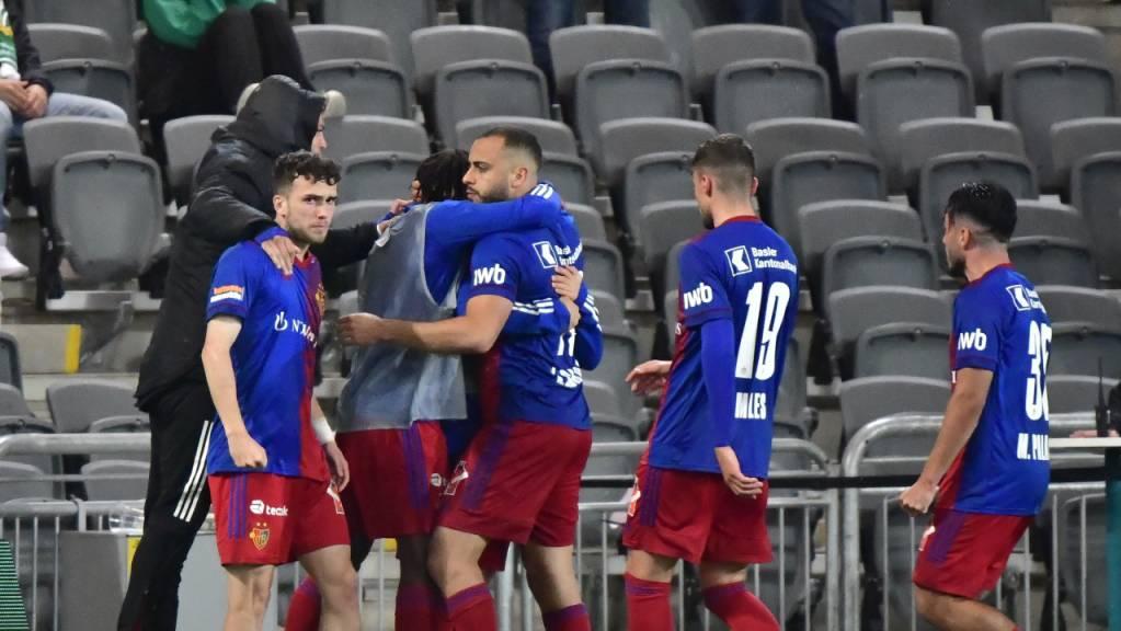 Dank Arthur Cabral steht der FC Basel in der Gruppenphase der Conference League.