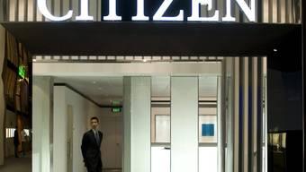 Der Stand des japanischen Herstellers Citizen an der Uhrenmesse Baselworld. (Archiv)