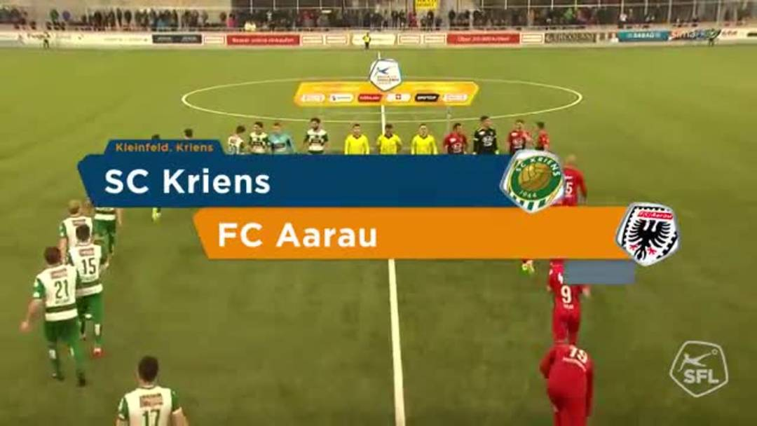SC Kriens - FC Aarau