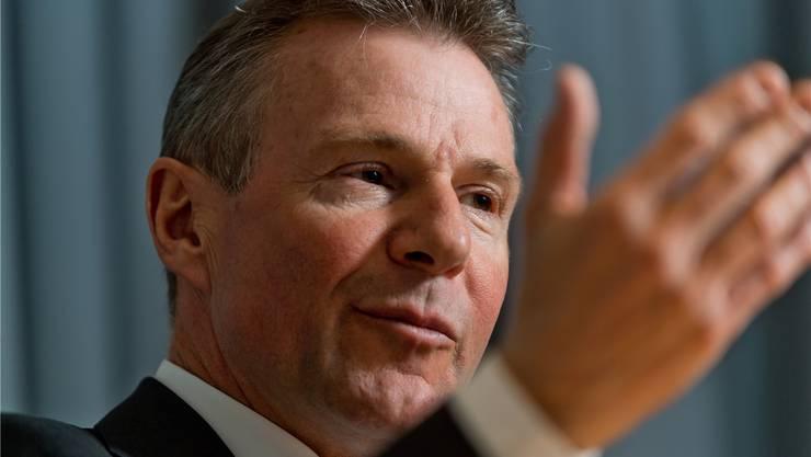 Luxus ist für ihn, am Ufer der Aare joggen zu gehen: Peter Bühlmann, Chef der Neuen Aargauer Bank (NAB). Emanuel Per Freudiger