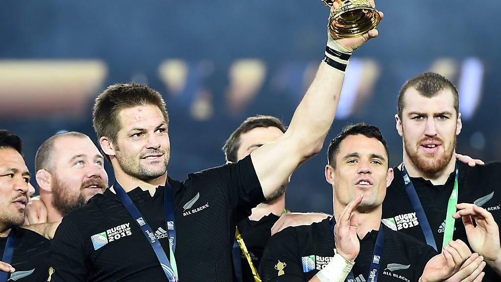 Vor vier Jahren in London triumphierte Neuseeland. Auch ohne den zurückgetretenen Captain und Rekord-Nationalspieler sind die «All Blacks» wieder die Topfavoriten