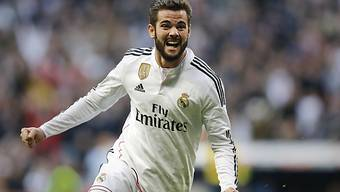 Nacho erzielte für Real Madrid das 3:0
