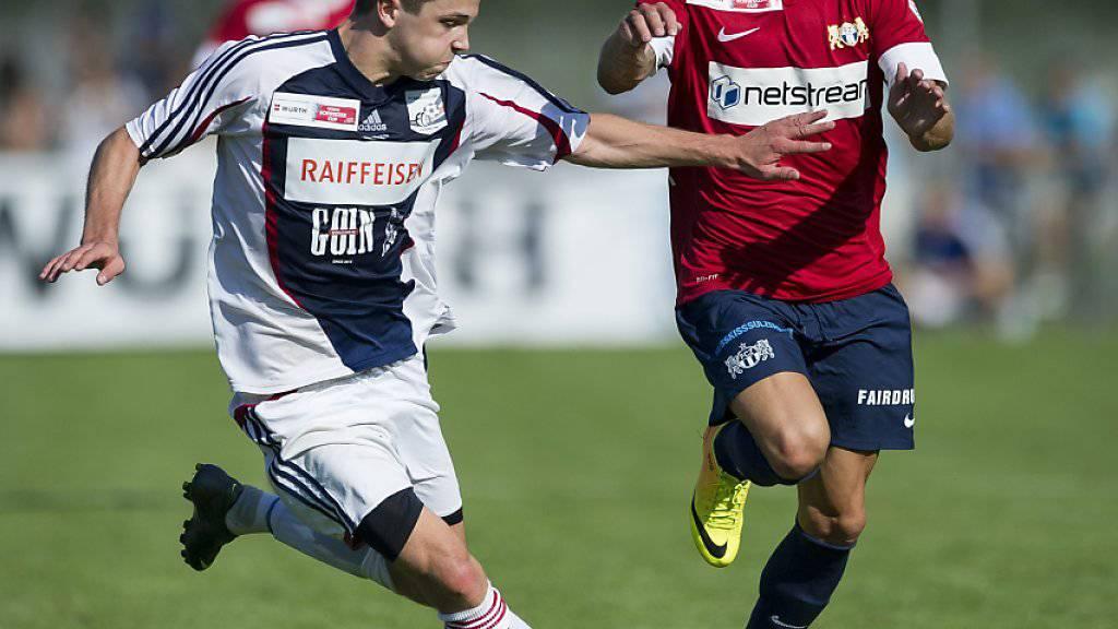Wie bereits 2013 kommt es im Schweizer Cup zum Duell zwischen Bassersdorf und dem FC Zürich