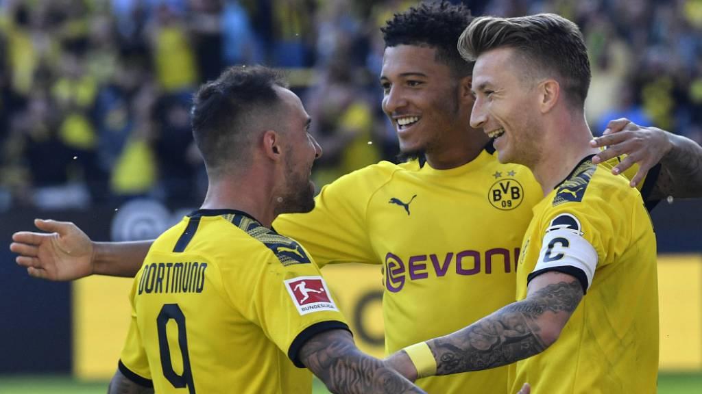 Borussia Dortmund entlässt Leverkusen mit 0:4