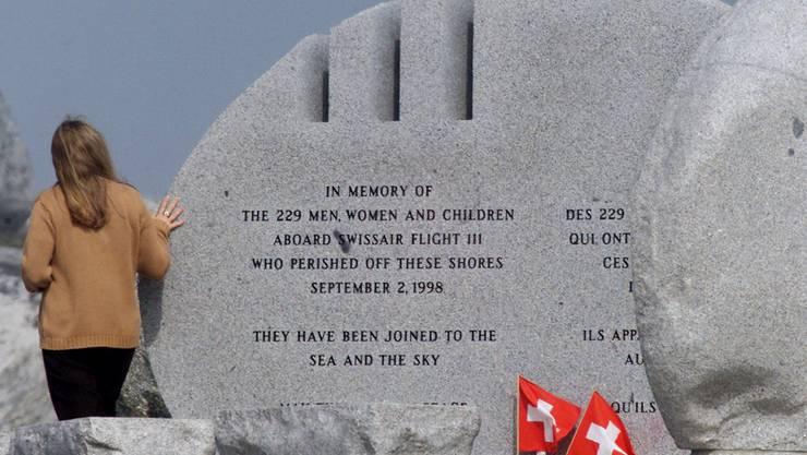 Die Gedenkstätte für die Opfer des Swissair-Fluges 111 bei Peggy's Cove