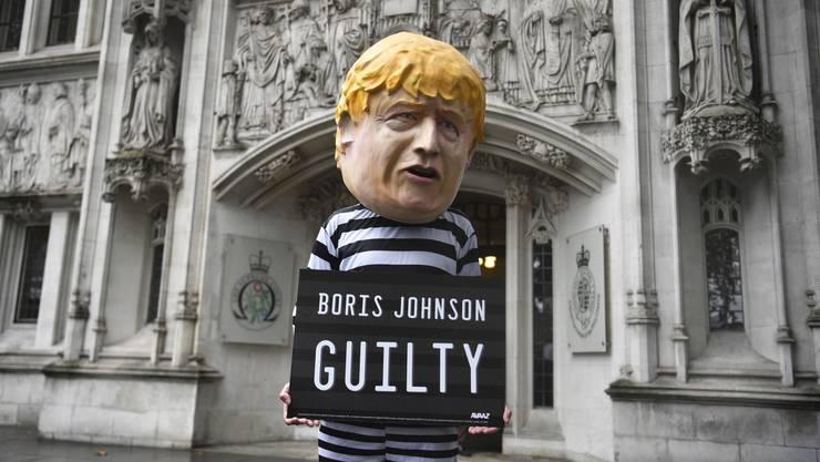 Boris Johnson ein Verbrecher? So schlimm ist es noch nicht, aber der britische Premierminister hat vor Gericht eine empfindliche Niederlage erlitten.