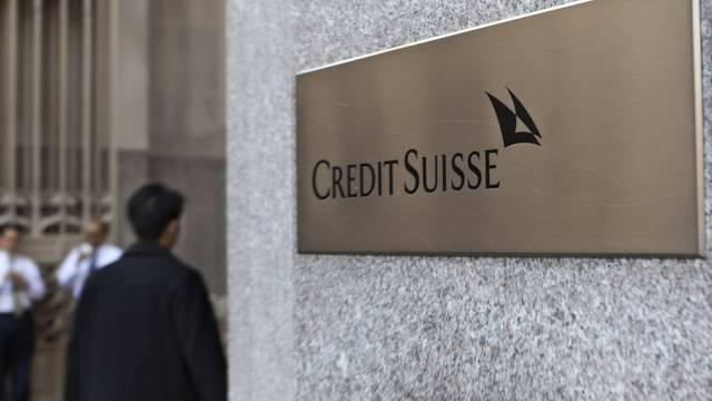 Eine Filiale der Credit Suisse in den USA